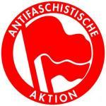 das klassische Logo der Antifaschistischen Aktion